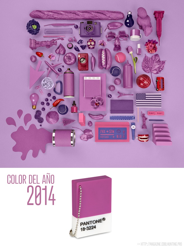 Color Pantone 2014- Radiant Orchid