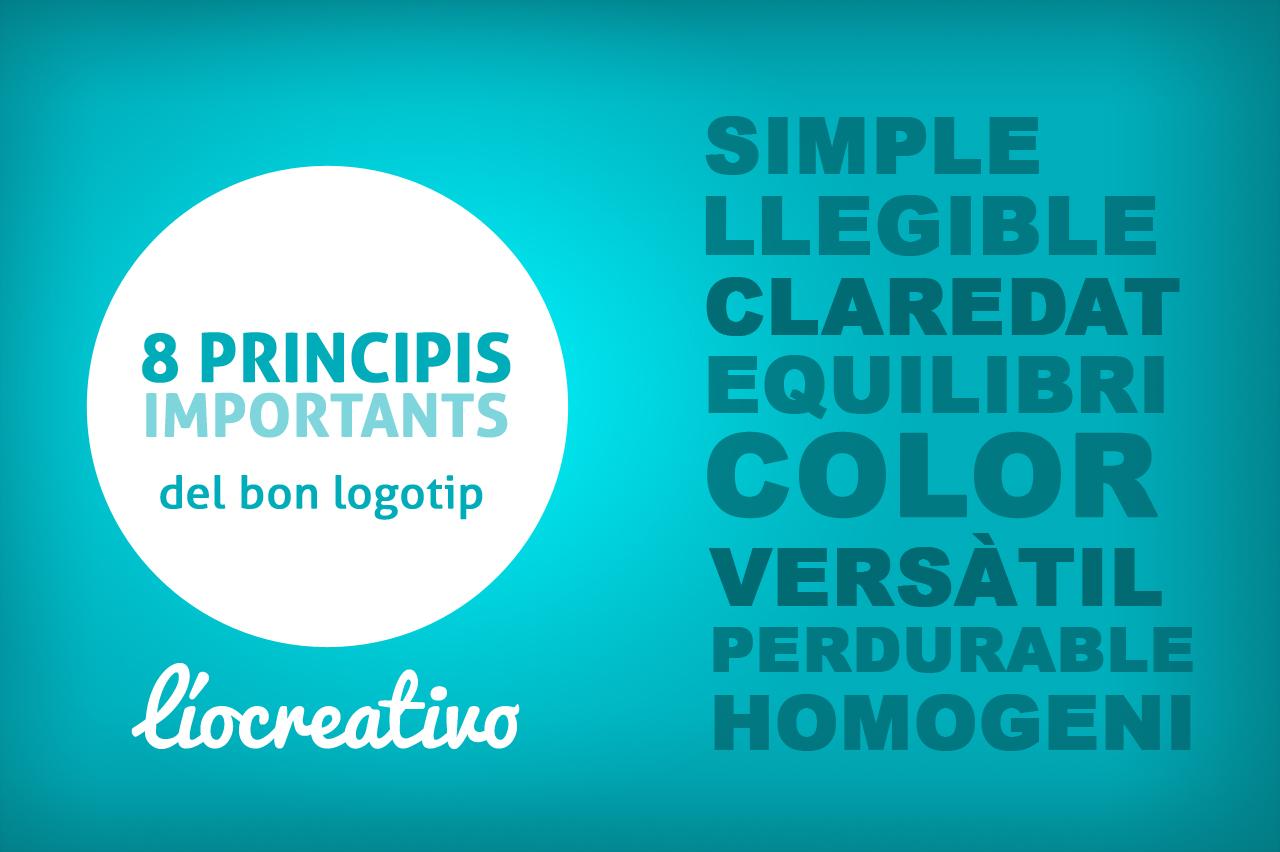 8 principis del bon logotip