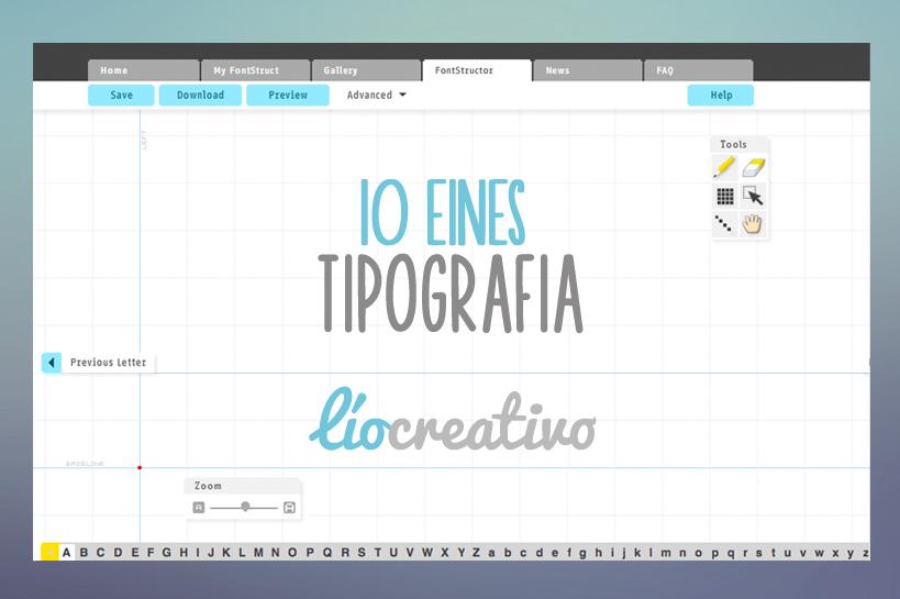 10 Eines de Tipografia