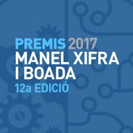 Premis Manel Xifra i Boada 2017