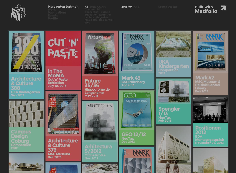 Inspírate con una selección de creativos portfolios