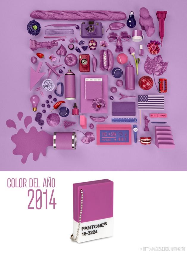 El color del año 2014 - Pantone Radiant Orchid