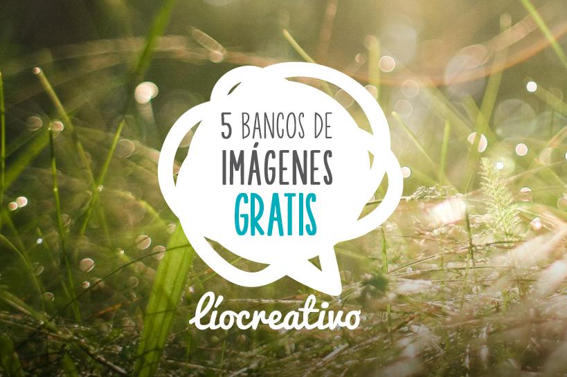 5 Bancos de imágenes gratuitos (I)