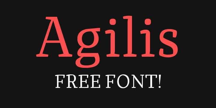 Agilis_tipografia