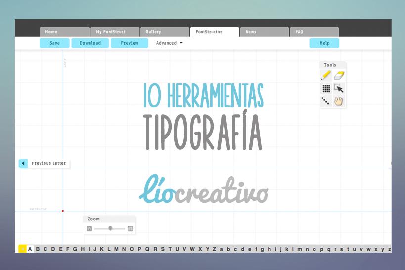 10 Herramientas de tipografía